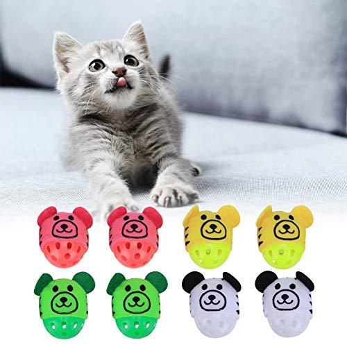 Meiyya Grünes lustiges Katzenglockenspielzeug; Interaktives Spielzeug für Haustiere; Training Tiere für Pet Ball Spielzeug Pet Play Toy