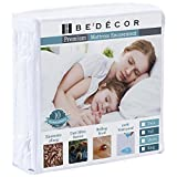 Bedecor Zippered Encasement Six Sides Waterproof, Dust Mite Proof, Bed Bug Proof Breathable Mattress Protector - Full