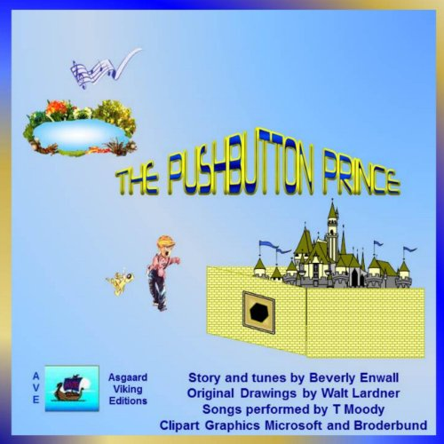 The Pushbutton Prince audiobook cover art