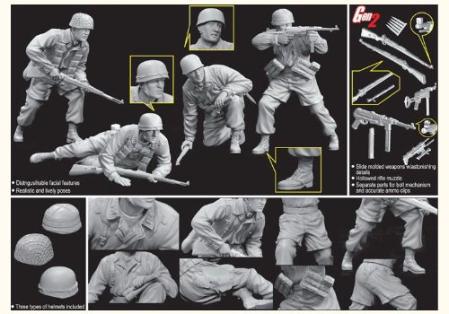 Dragon 6514 Monte Casino Defenders 1944 Fallschirmjager 1:35 Plastic Kit