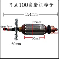 AC220-240V 角度研削アーマチュアモーターローター日立 G10SF3 G10SS G13SS 電源ツールユニバーサルアクセサリー