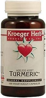 Kroeger Herb Turmeric, 100 Count
