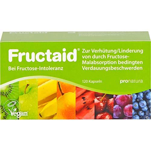 Fructaid Kapseln bei Fructose-Intoleranz, 120 St. Kapseln