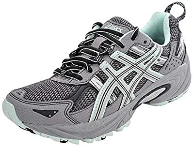 ASICS Women's Gel-Venture 5 Trail Running Shoe, Frost Gray/Silver/Soothing Sea, 8.5 M US