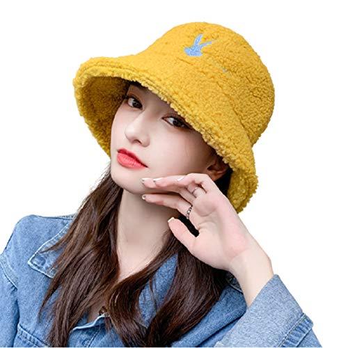 TYXQ Sombrero de Felpa ala Ancha Informal Transpirable Ocio Sombreros Durable Gorro De Cálido