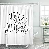 Set di tende da doccia con persiane, Stile Antico, casa di Campagna, ingresso in Stile Francese, Muro di Pietra, fattoria, Stampa di Foto, bagno, Marrone Verde