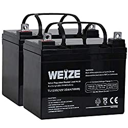Weize Deep Cycle Battery for Scooter