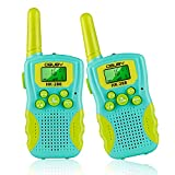 Obuby Walkie Talkies for Kids, Toys for 3 4 5 6-12 Year Old Boys Girls 3 KMs Long Range 2 Way Radio 22 Channels with Backlit LCD Flashlight Best Gifts for Kid Outdoor Adventure Game