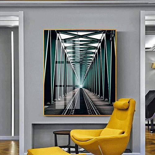 YEESEU Arte prolongado Espacio Post-Moderna del Marco de aleación de Aluminio Moderna...
