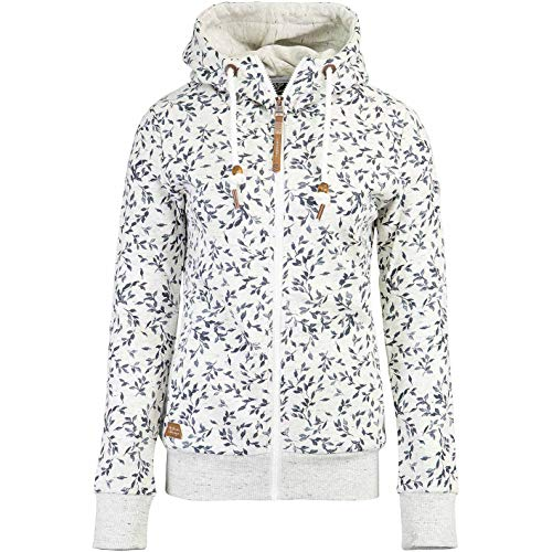 Ragwear Angel Zip Hoody Damen (M, White)
