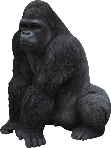 Vivid Arts Gorilla, Kunstharz Gartendeko