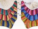Online Supersocke - Juego de 6 ovillos de lana merino extrafina de color 313 (600 g, lana de merino con degradado para tejer o ganchillo)