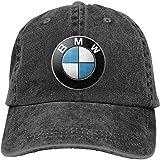 NA Mens Vintage Adjustable Dad-Hat Customized General Motors BMW Logo Funny Cowboy Hat, Deep Heather