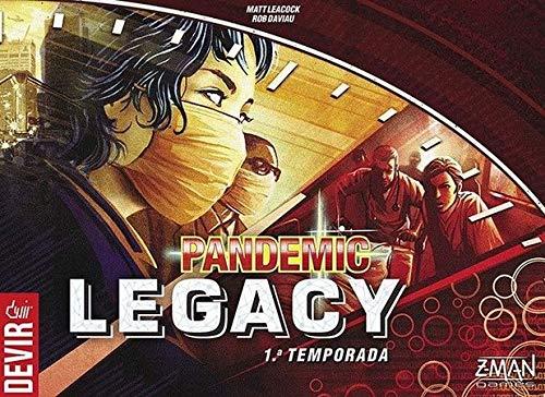 Pandemic Legacy 1ª Temporada Caixa Vermelha - Devir
