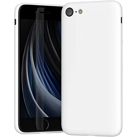 MYNUS iPhone SE CASE for iPhone SE(2nd-Gen)/8/7 (マットホワイト)