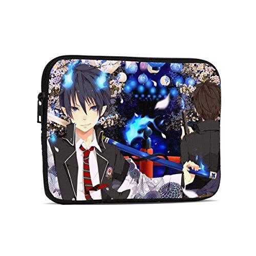 Ao No Exorcist Tablet Liner Bag Bolsas de Manga para computadora portátil Maletín de Moda Funda Protectora Ultra portátil Estuche para computadora portátil 9.7 Pulgadas LAP-3374