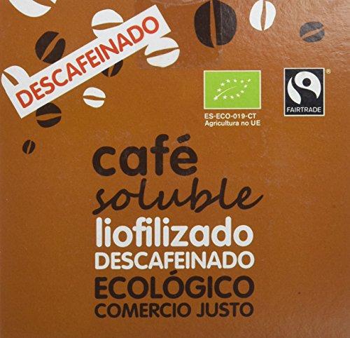 AlterNativa3 Café Descafeinado Liofilizado - 2 Paquete de 2