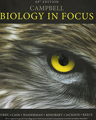 CAMPBELL BIOLOGY IN FOCUS,AP E