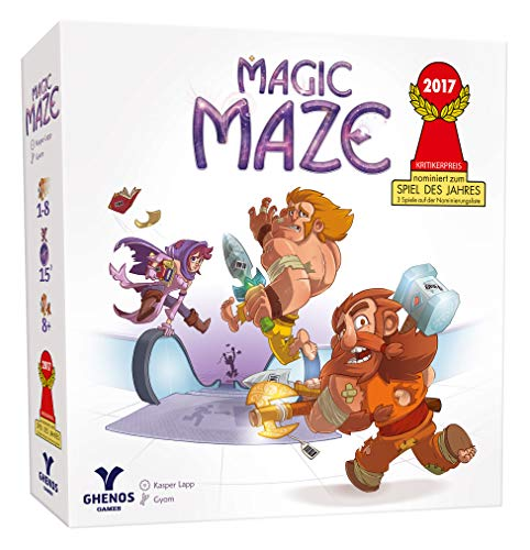 Ghenos Games - GHE069/2 - Magic Maze, Gioco da Tavolo