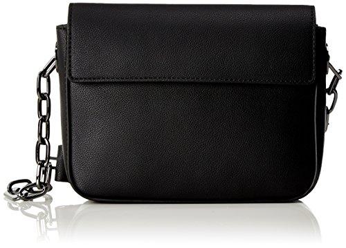 Calvin Klein - Night Out Small Shoulder Bag, Bolsos bandolera Mujer, Negro (Black), 7x15x21 cm (B x H T)