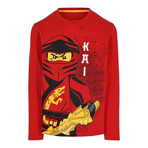 LEGO Ninjago Longsleeve Shirt Camiseta, 349, 116 cm para Niños