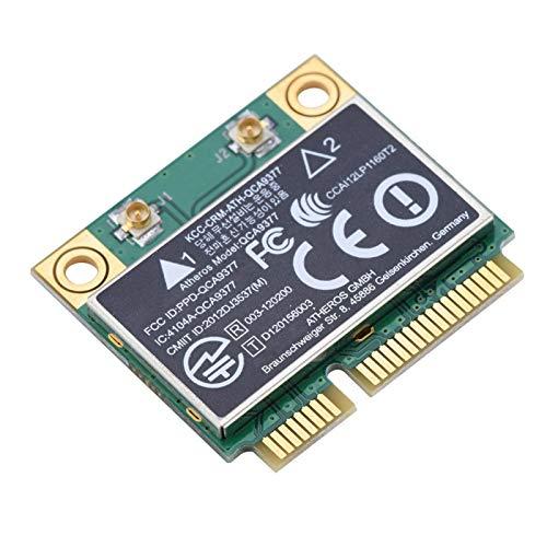 Mini trådlöst kort, PCI-E Dual Band 2.4G / 5Ghz 433Mbps WIFI Bluetooth 4.2 nätverkskort, för stationär, bärbar dator, industriell styrkort, för Windows 7/10