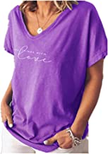 NOBRAND New Relaxed - Camiseta de manga corta para mujer