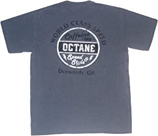 Caffeine and Octane Comfort Colors World Class Speed T-Shirt - Washed Navy
