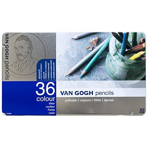 36 color set Metal Cased 157 371 Van Gogh colored pencils (japan import)