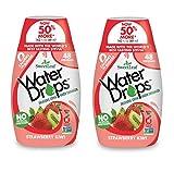 Sweetleaf Stevia Natural Water Drops Strawberry Kiwi, 1.62 Ounce (Pack of 2)