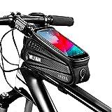 YMYGCC Beam Estuche rígido de la Bici del Frente del Bolso Bolsa de Bicicletas de montaña de teléfono móvil de Pantalla táctil Superior Tubo de la Bolsa Bolsa de sillín Riding Equipment