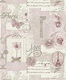 Arthouse 665403 Papel Pintado, Rosa, Full Roll, 5
