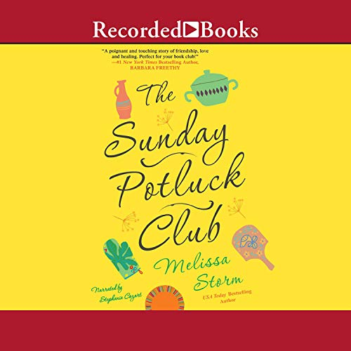 The Sunday Potluck Club Audiobook By Melissa Storm cover art