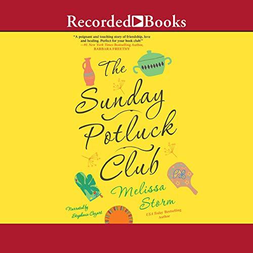 The Sunday Potluck Club audiobook cover art