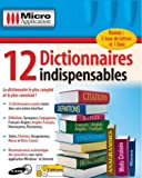 12 Dictionnaires indispensables (+ les jeux) [Import] -