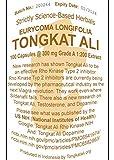 Tongkatali.org's 100 Capsules Grade A Indonesian 1:200 Tongkat Ali Extract