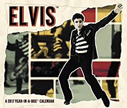 Elvis Presley Year-In-A-Box Calendar (2017)