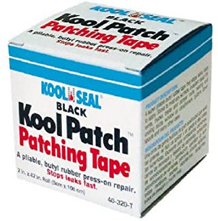 Kst Coating-Kool Seal 2`` x 42`` Roll Blk Butyl Tape 40-320 Roof Seal Tape