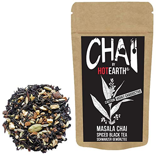 Hot Earth Chai: Onyx - Spiced Black Tea - Masala Chai (400g - Pouch)