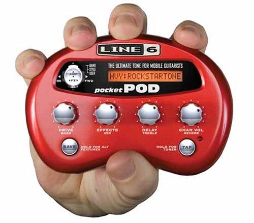 Line 6 Pocket Pod - Multiefectos portátil para guitarra