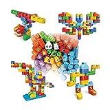 VTech - Bla Bla Blocks - Baril 80 blocs, sans électronique - Jeu de construction