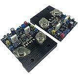ROUHO 2Pcs Golden Seal IRF240 IRF9240 Scheda Amplificatore valvolare ad Effetto di Campo Classe A Amplificatore di Potenza Stereo AMP Audio Domestico Fai-da-Te