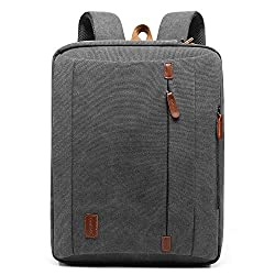Review of the Best Teacher Backpacks - Coolbell Convertible Backpack-Messenger Bag - Briefcase
