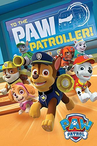 Paw Patrol Drucken, Papier, Mehrfarbig, 61 x 91.5cm
