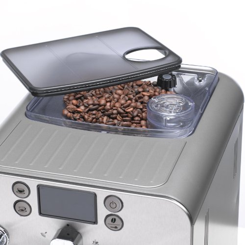 Gaggia Brera Super Automatic Espresso Machine in Black. Pannarello Wand Frothing for Latte and Cappuccino Drinks. Espresso from Pre-Ground or Whole Bean Coffee.