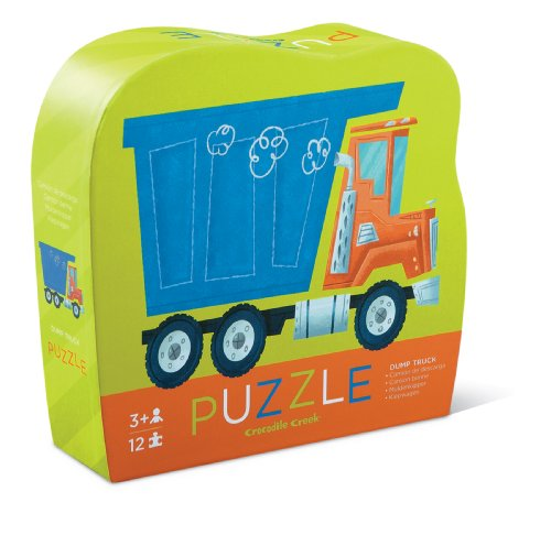 Mini Shaped Puzzle/Dump Truck (Juguete)