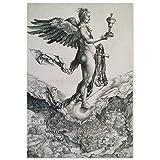 JUNIWORDS Poster, Albrecht Dürer, Nemesis, Das große