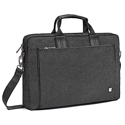 Evecase City 15 - 15.6 inch Laptop Briefcase Messenger Bag, Professional Water Resistant Business Laptop Shoulder bag for Apple ASUS Acer Samsung Dell Lenovo Chromebook Ultrabook and More