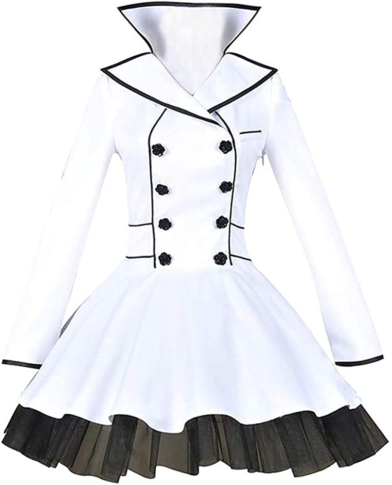 Los Angeles Mall Animation Character White Outfit Halloween Dress Cospla Clothing Popular popular