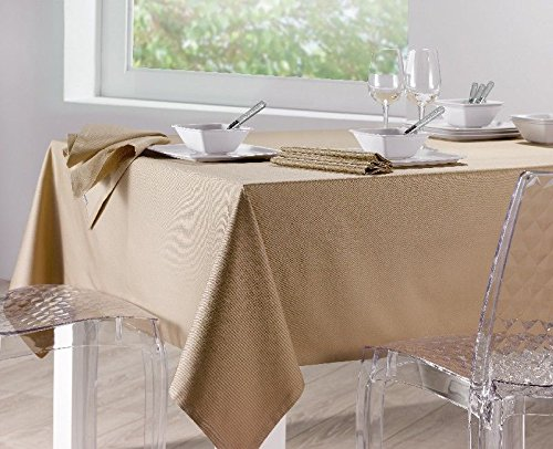 Winkler ~ Nappe Unie Soft Ficelle 170x250